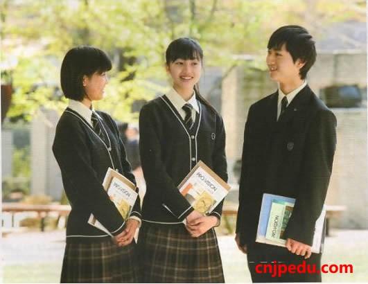 八王子学园八王子高中校服