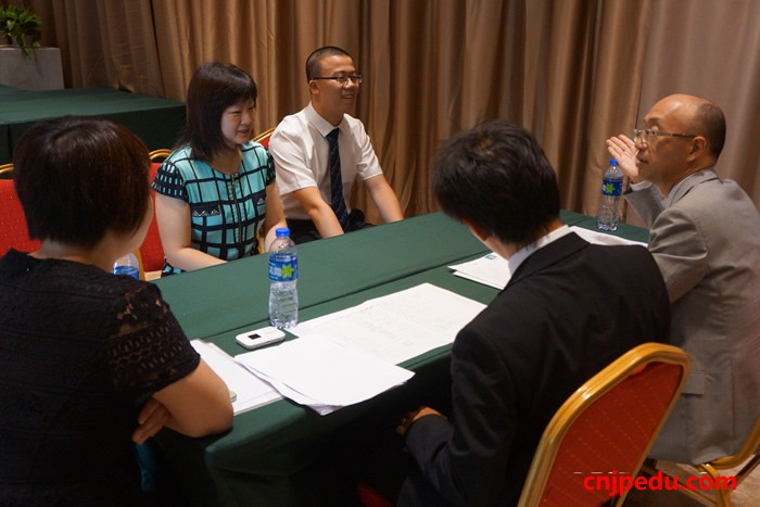 东京工学院大学附属高中2016中国留学生入学考试现场面试进行中