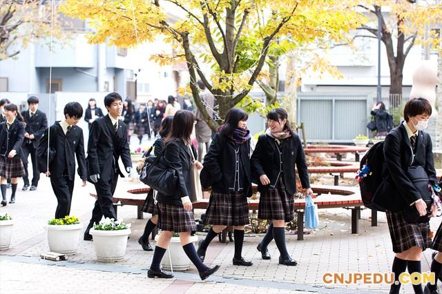 八王子高中学生登校