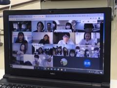 冲绳尚学高中和台湾姐妹校举办线上交流会