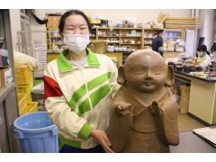 西山学院高中陶艺作品烧制结束